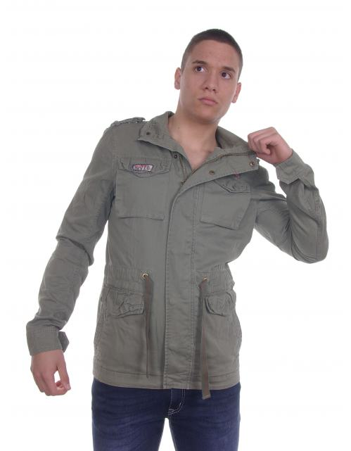 Devergo - Férfi - Ruházat - Átmeneti kabát Dzseki barna  adafc14924