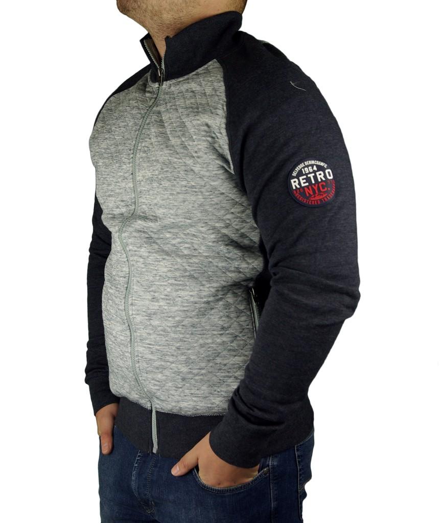 7210958448 Retro Jeans férfi zippes pulóver EMIL | Markasbolt.hu Hivatalos ...