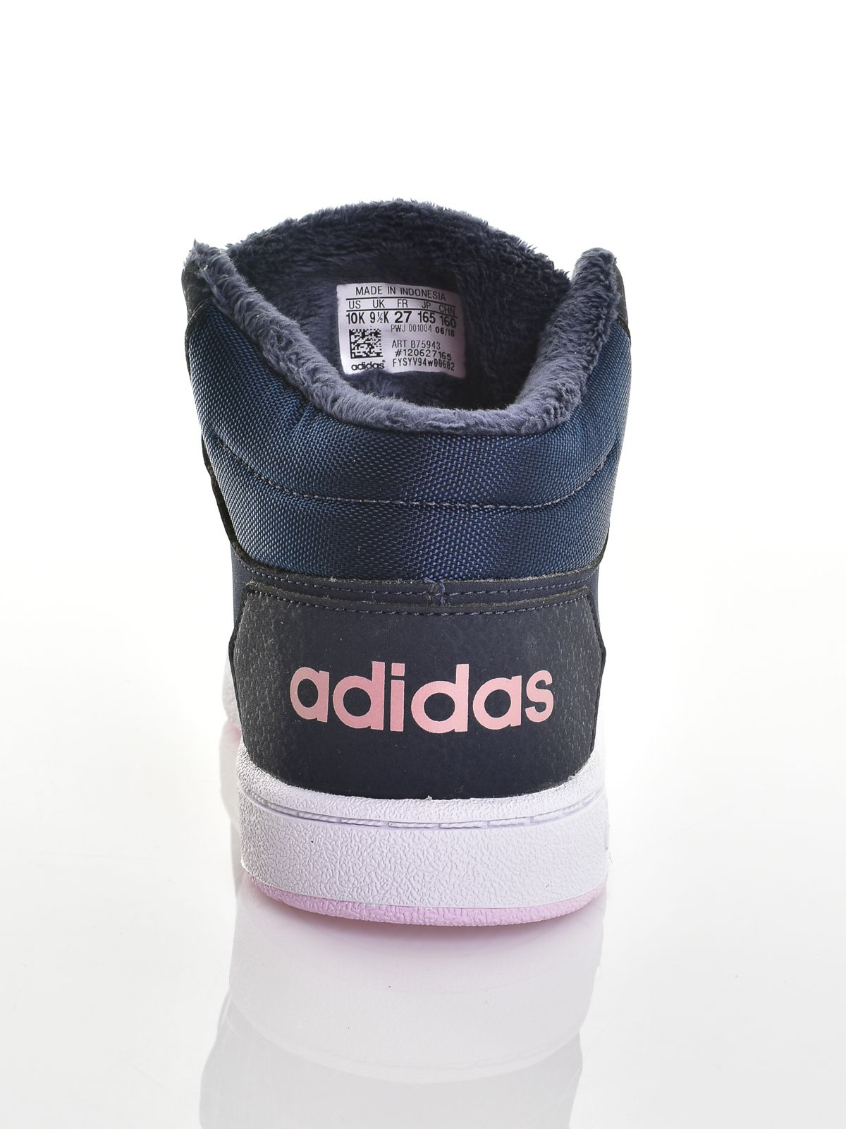 ... Adidas bébi lány magasszárú cipő HOOPS MID 2.0 I ... 28c8a2ff29