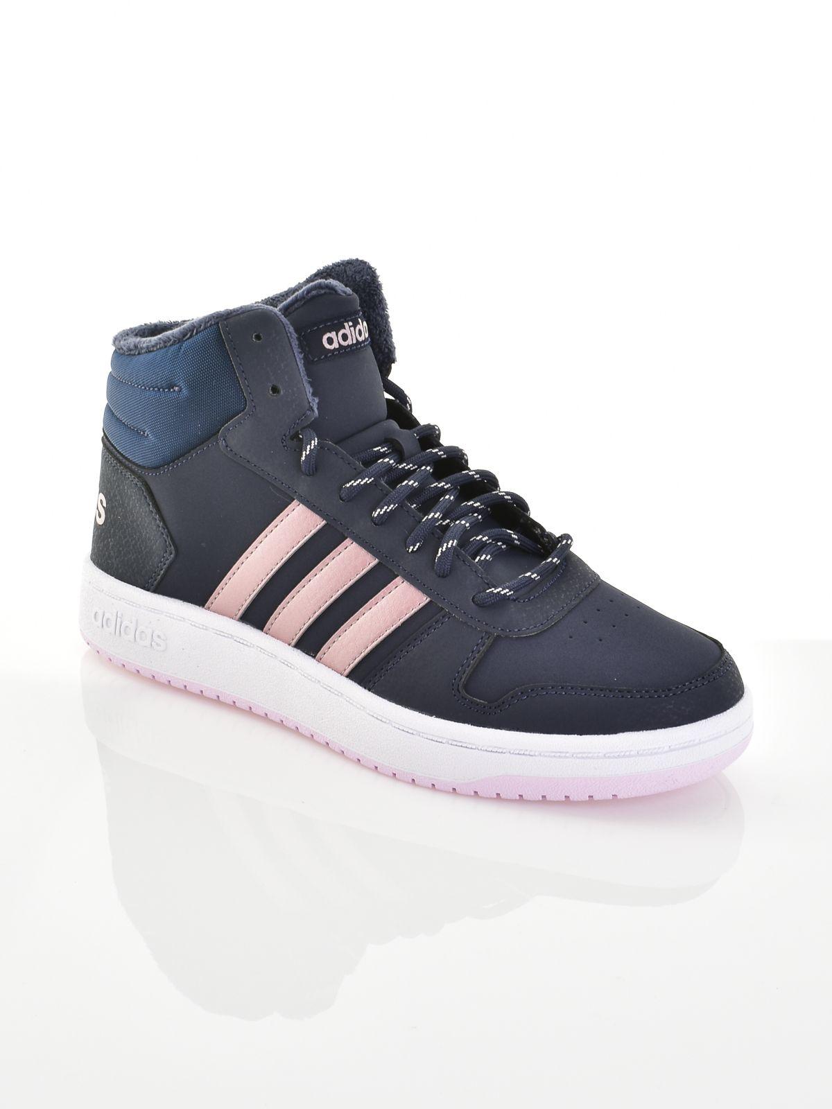 Adidas kamasz lány magasszárú cipő HOOPS MID 2.0 K ... 50e003a440
