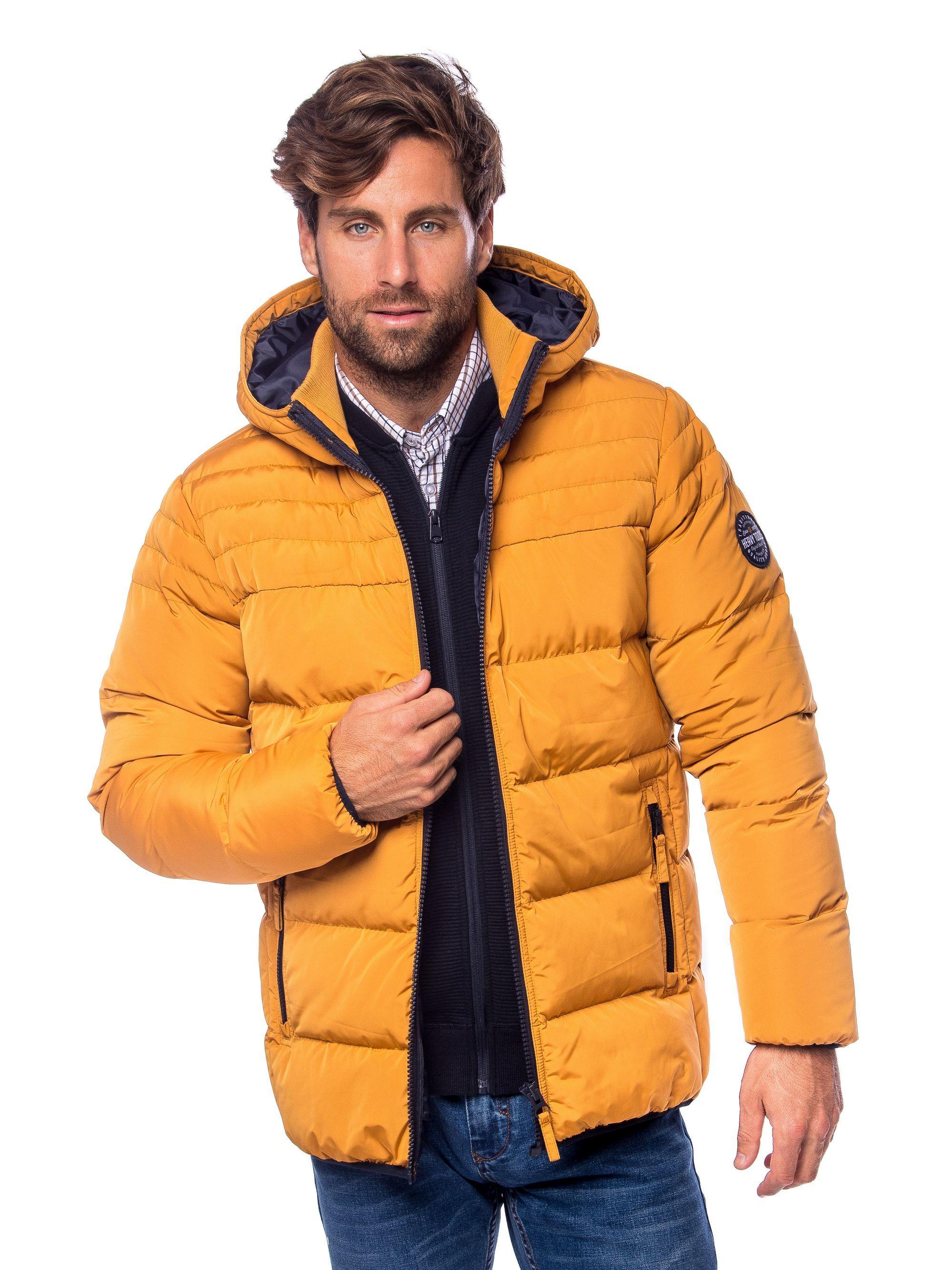 Heavy Tools férfi kabát NEON yellow | Markasbolt.hu