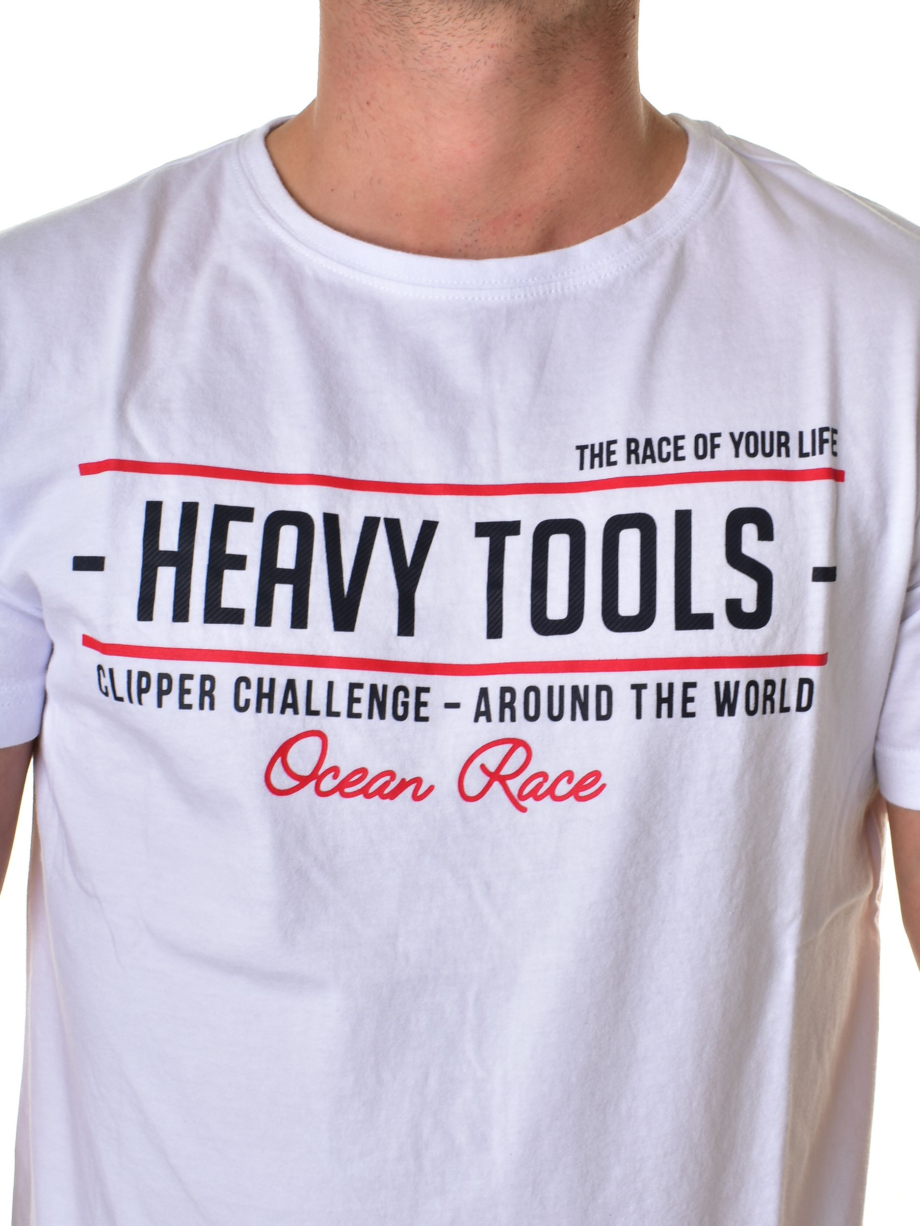 e71cd4f73b Heavy Tools Férfi Póló Meaning White | Markasbolt.hu Hivatalos Heavy ...