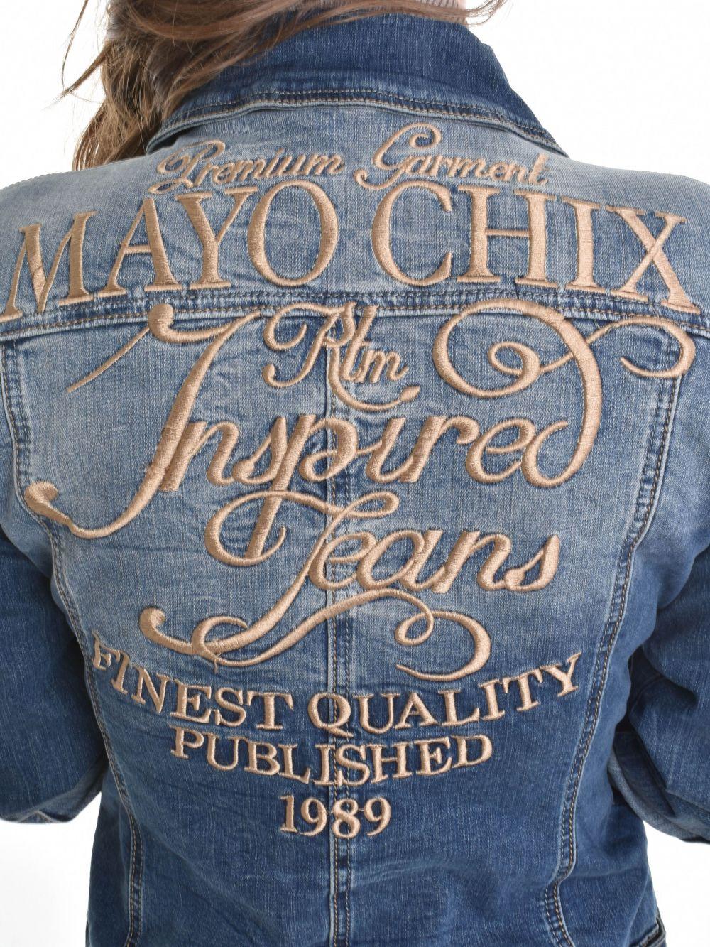 69b8c5f28b Mayo Chix női farmerdzseki FLORIDA | Markasbolt.hu Hivatalos Mayo ...