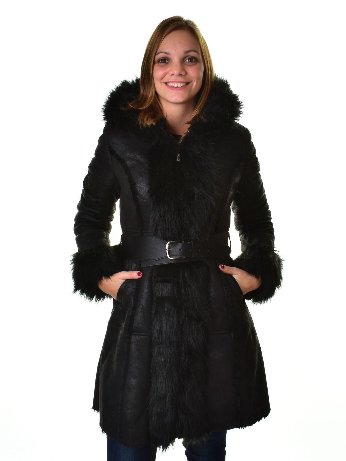 Mayo Chix női irha kabát GINNI ... c7276f6fb8