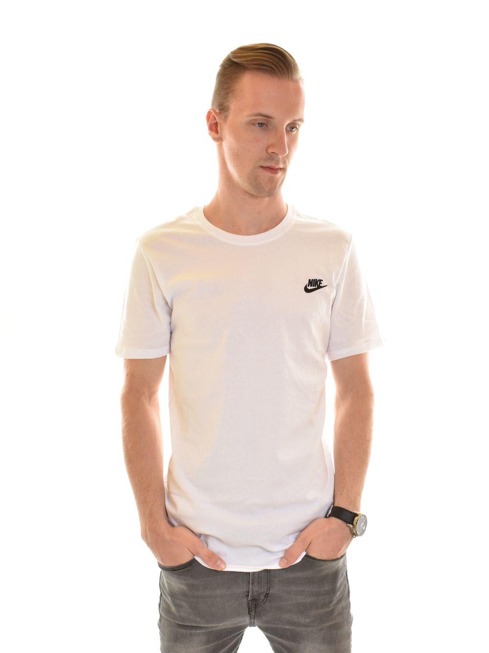 NIKE M NSW TEE CLUB EMBRD FTRA férfi póló ... fc3519132f4d3