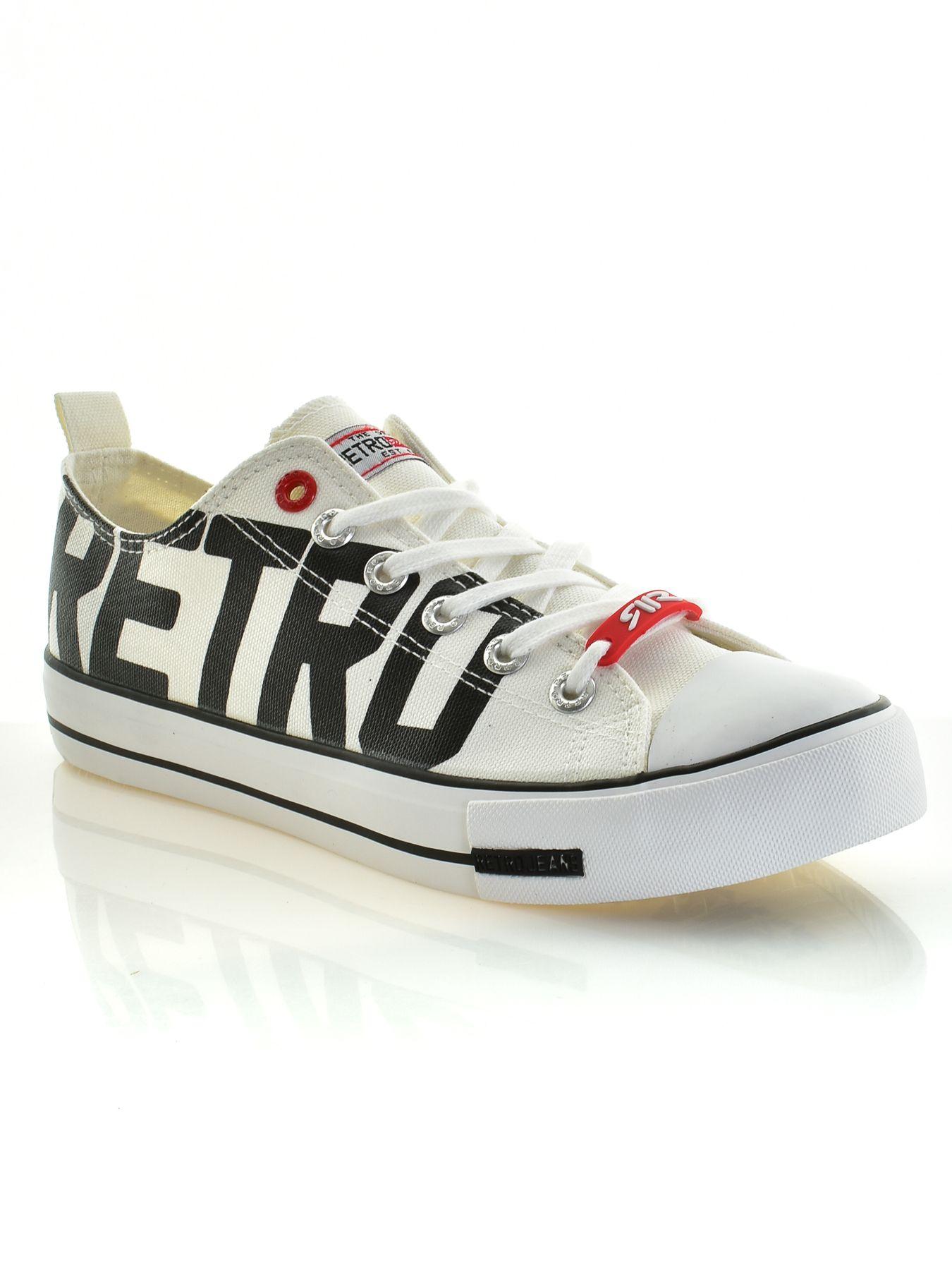 Retro Jeans cipő (Claxton Print 19 Sneakers) 8266   Retro