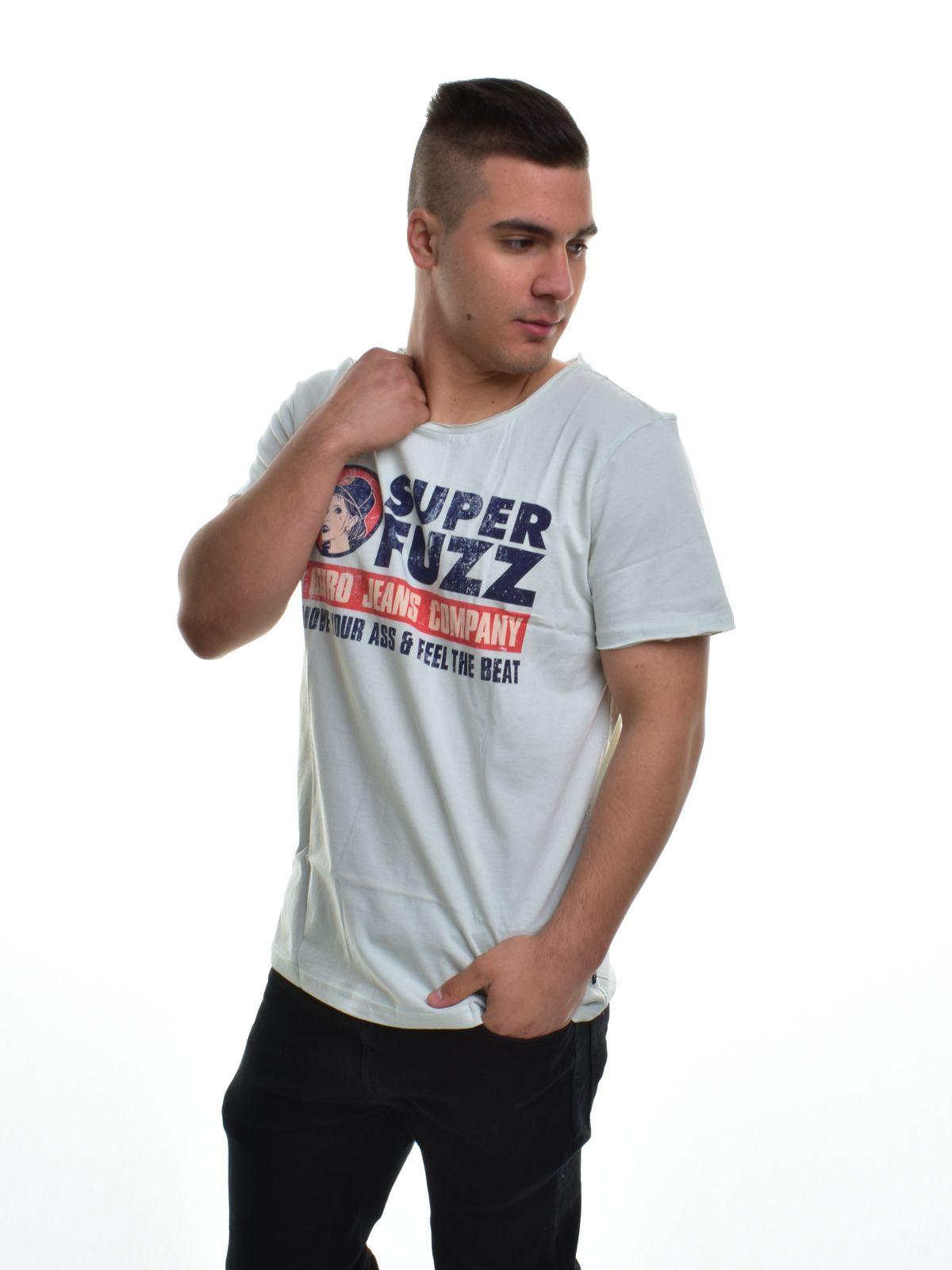 00969e9ed6 Retro Jeans férfi póló FUZZY T-SHIRT   Markasbolt.hu Hivatalos RETRO ...