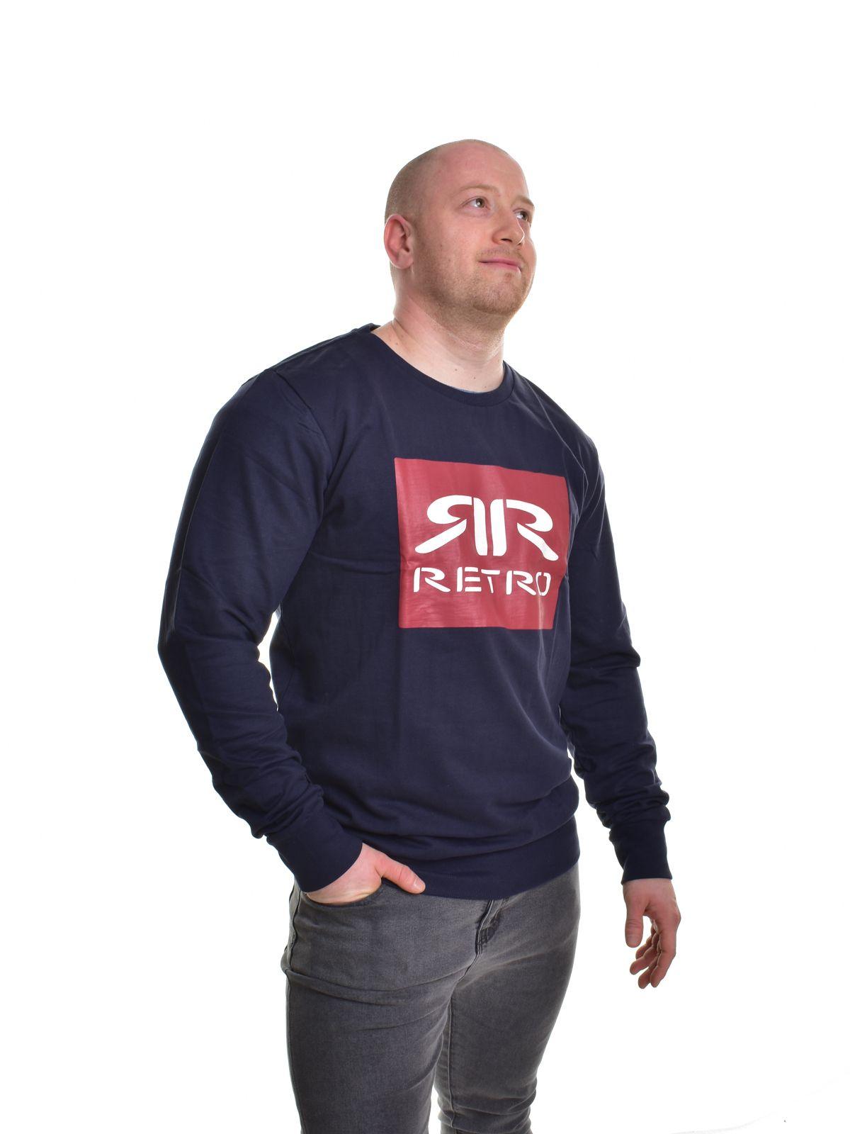 06f7f85ca9 Retro Jeans férfi zippes-kapucnis pulóver CHIEF SWEATER JOGGING TOP ...