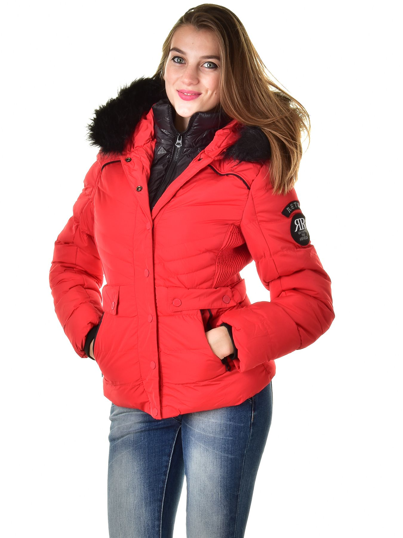 Retro Jeans női kabát (Noemie) 9229   Retro női kabátok
