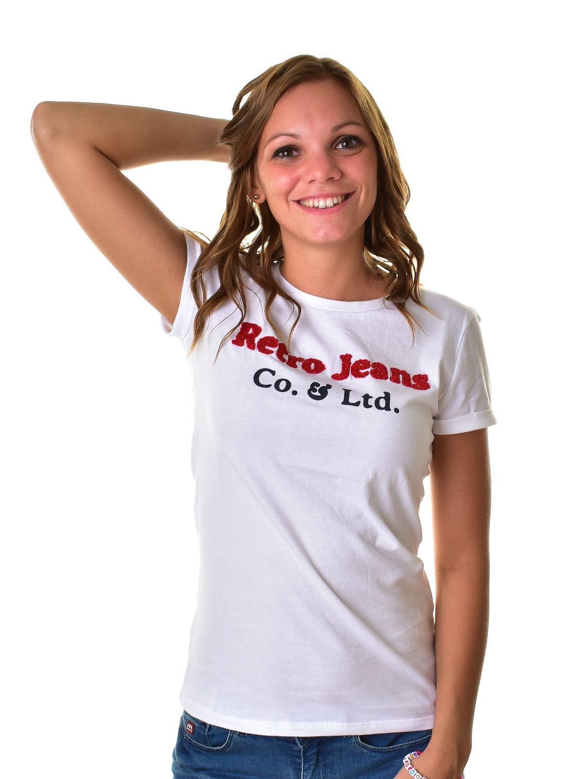 cf1fd01554 Retro Jeans női póló ISABEL T-SHIRT | Markasbolt.hu Hivatalos RETRO ...