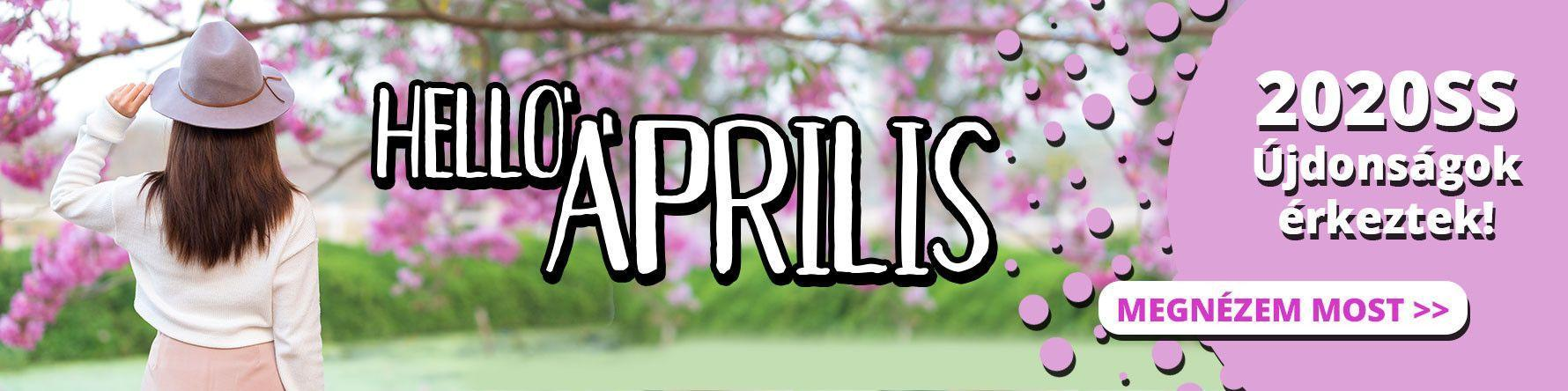 HELLO ÁPRILIS