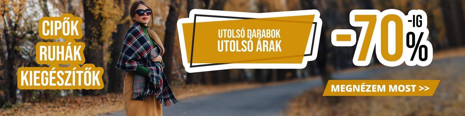 Utolsó Darabok!